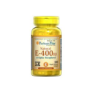 100%天然ビタミンE 400IU×100ソフトジェル