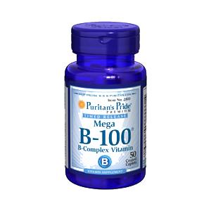 ビタミンB複合体(B-100)×50タブレット