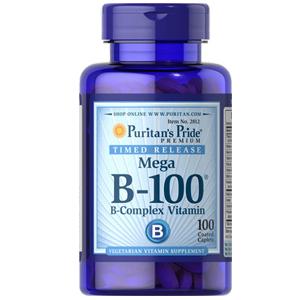 ビタミンB複合体(B-100)×100タブレット