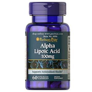 αリポ酸(アルファリポイックアシド)100mg×60カプセル