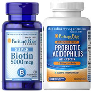 スーパービオチン+アシドフィルス菌withペクチン・2個セット