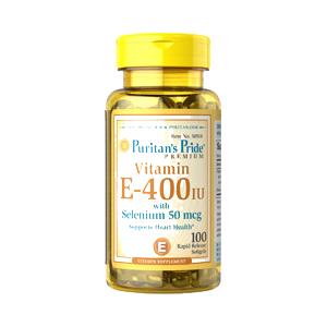 100%天然ビタミンE with セレニウム