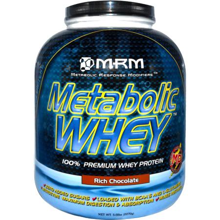 Metabolic WHEY PROTEIN (100%ホエイプロテイン) チョコレート味(2.27kg)